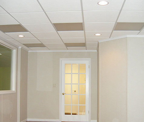 Total Basement Finishing Has A Ceiling System Uniquely Suited For Basements Drop Is Ideal Giving You Access To Plumbing And