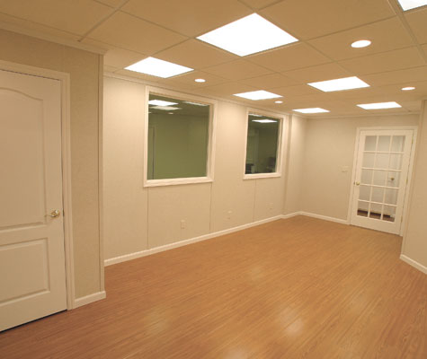 Finished Basement Wood Flooring In In And Ky Best Flooring For A