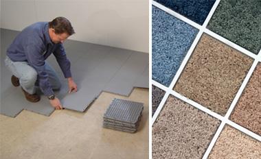 Waterproof Basement Floor Matting Installed In Owensboro
