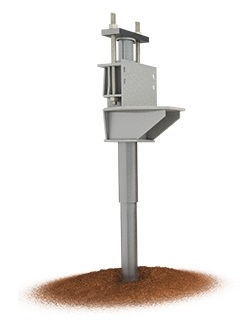 A foundation push pier system illustration picture