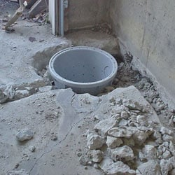 Placing a sump pit in a Central City home