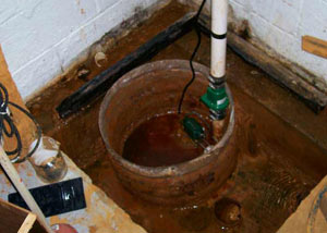 Extreme clogging and rust in a Fort Knox sump pump system
